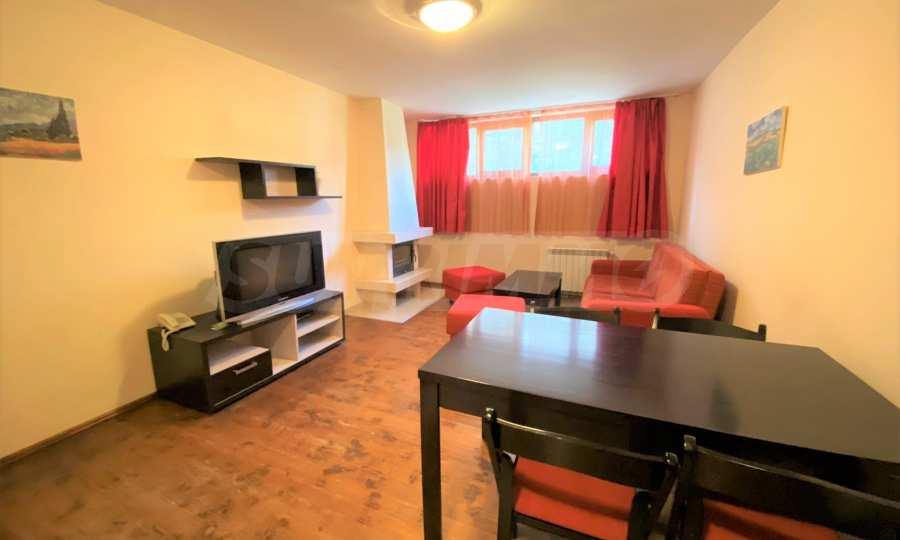 Möbliertes 3-Raum-Apartment im Ski-Kurort Bansko