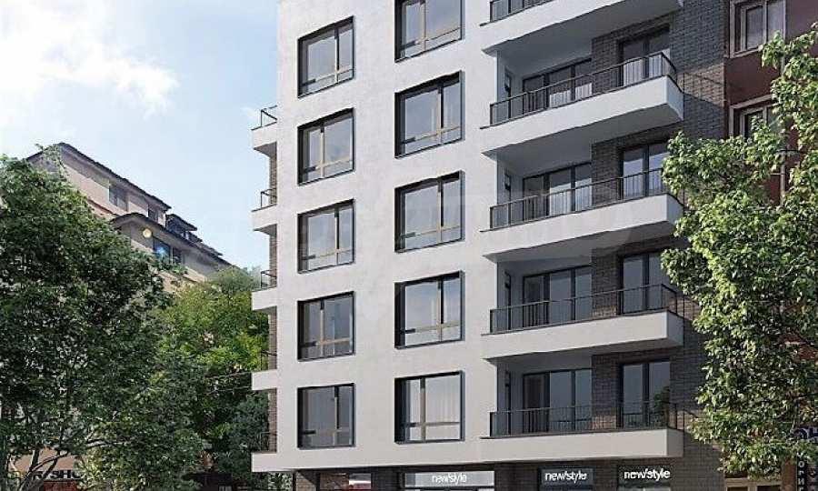 Neue Apartments im Boutiquegebäude in der Nähe vom Zentrum von Burgas