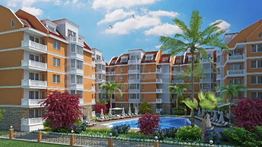 Neue Apartments im attraktiven Komplex neben Cacao Beach am Sonnenstrand 1