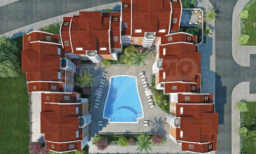 Neue Apartments im attraktiven Komplex neben Cacao Beach am Sonnenstrand 20