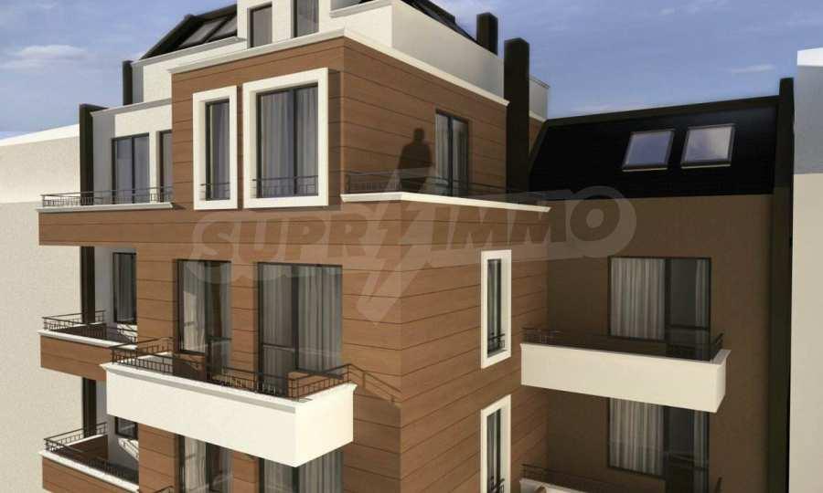 Funktionelle Wohnungen im Neubau-Gebäude im Stadtteil Lasur 1