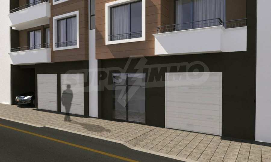 Funktionelle Wohnungen im Neubau-Gebäude im Stadtteil Lasur 2