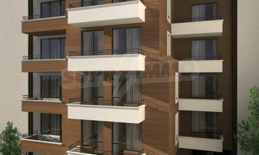 Funktionelle Wohnungen im Neubau-Gebäude im Stadtteil Lasur 3