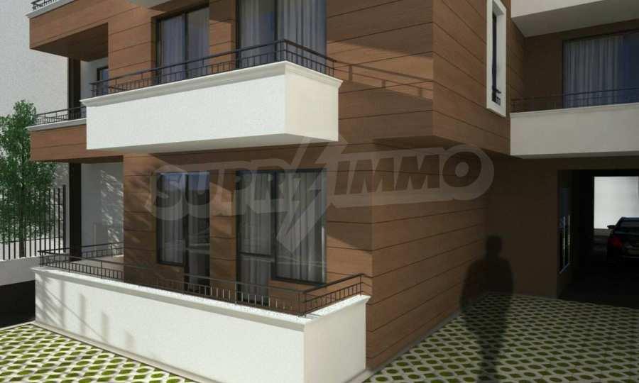 Funktionelle Wohnungen im Neubau-Gebäude im Stadtteil Lasur 5