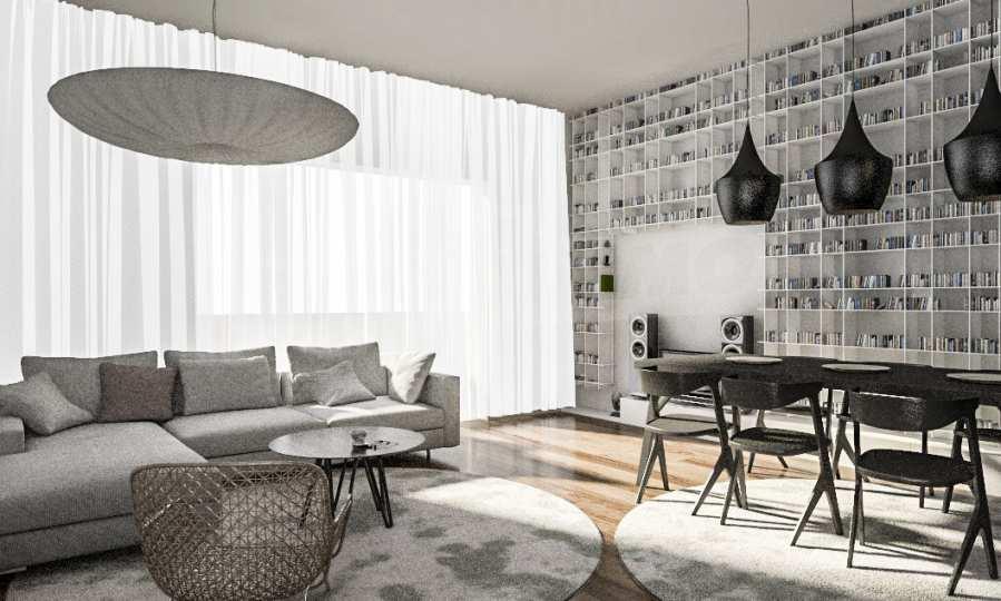 Funktionelle Wohnungen im Neubau-Gebäude im Stadtteil Lasur 7