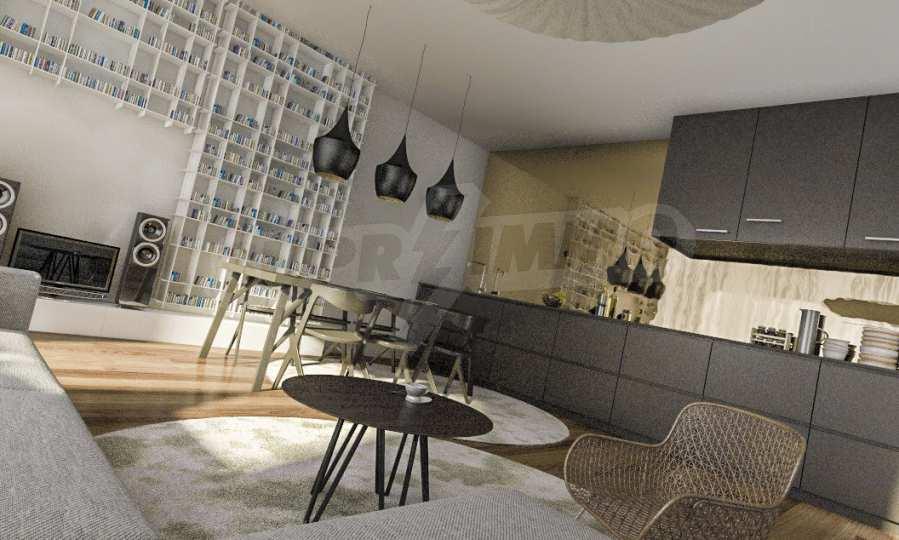 Funktionelle Wohnungen im Neubau-Gebäude im Stadtteil Lasur 8