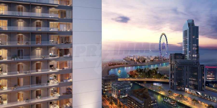 Neuer luxuriöser Wolkenkratzer in Dubai Marina 2