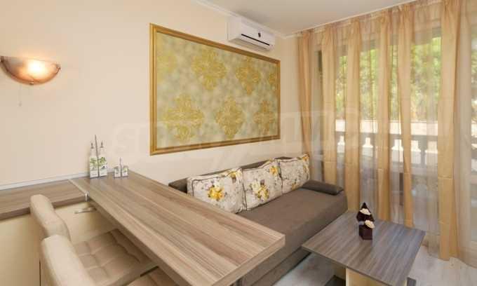 Stilvolles Studio im luxuriösen Wellness-Komplex neben dem Strand in Sweti Wlas 1