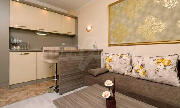 Stilvolles Studio im luxuriösen Wellness-Komplex neben dem Strand in Sweti Wlas 4