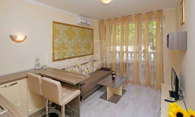 Stilvolles Studio im luxuriösen Wellness-Komplex neben dem Strand in Sweti Wlas 6