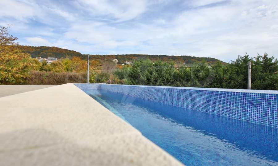 Stilvolles Haus Art Deco mit Infinity-Schwimmbad und einer unendlichen Meeraussicht 26