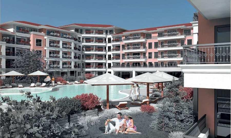 Neue Feriensiedlung mit Apartments zum Verkauf neben dem Park des ehemaligen Sanatoriums 1