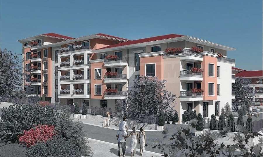 Neue Feriensiedlung mit Apartments zum Verkauf neben dem Park des ehemaligen Sanatoriums 2