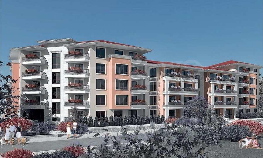 Neue Feriensiedlung mit Apartments zum Verkauf neben dem Park des ehemaligen Sanatoriums 3