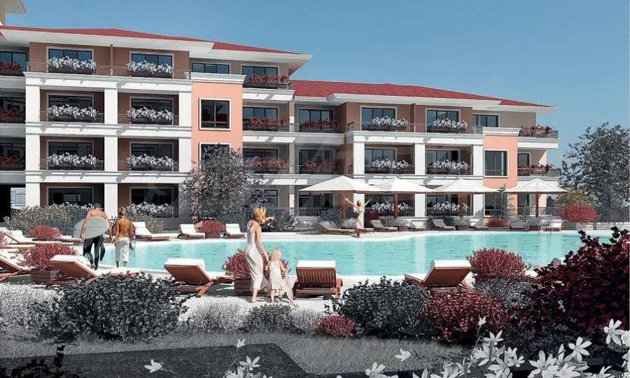 Neue Feriensiedlung mit Apartments zum Verkauf neben dem Park des ehemaligen Sanatoriums 5