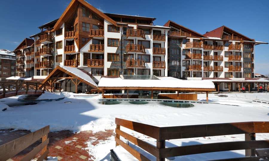 Möbliertes 2-Raum-Apartment mit Terrasse, nur 100 m vom Skilift in Bansko entfernt 7