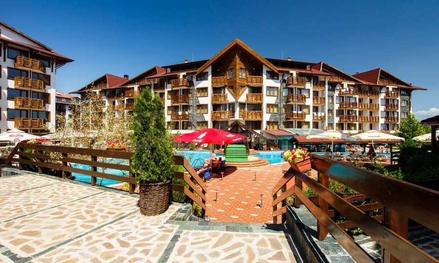 Möbliertes 2-Raum-Apartment mit Terrasse, nur 100 m vom Skilift in Bansko entfernt 8