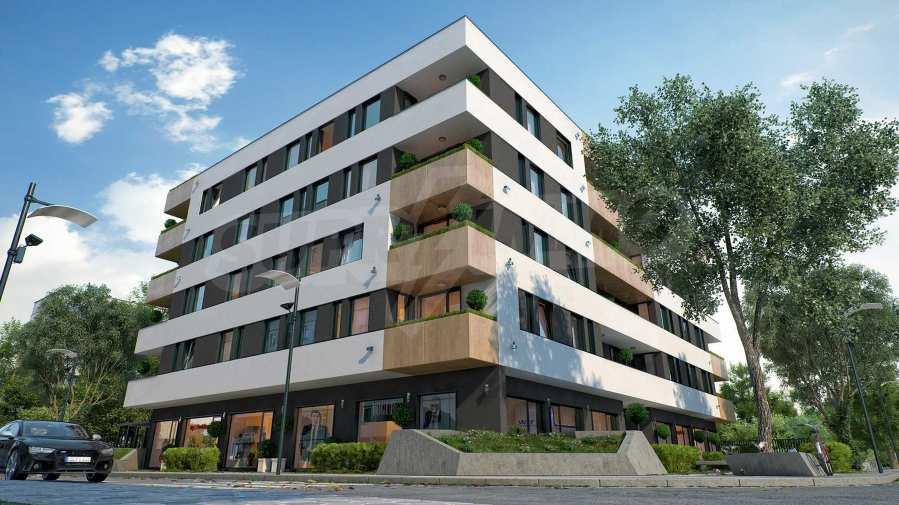 Comfort Residence - Оvtscha Kupel - modernes Wohngebäude neben U-Bahn-Station 5