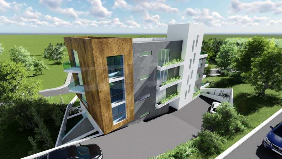 Schönes neu zu bauendes Gebäude im Stt. Winitsa