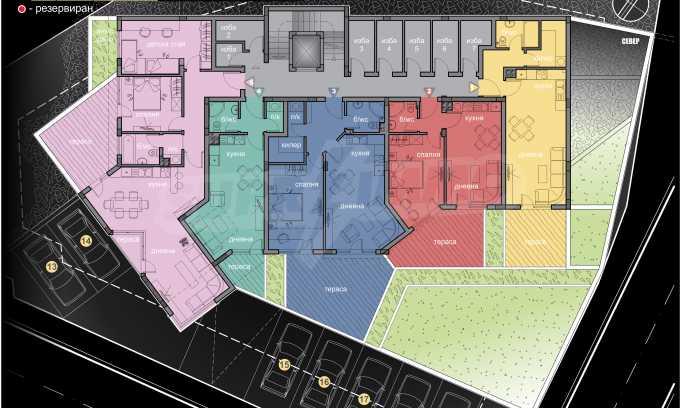 Schönes neu zu bauendes Gebäude im Stt. Winitsa 3