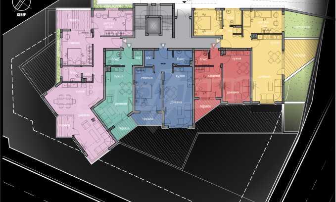 Schönes neu zu bauendes Gebäude im Stt. Winitsa 4