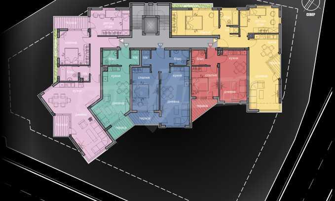 Schönes neu zu bauendes Gebäude im Stt. Winitsa 5