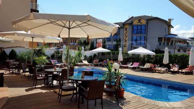Gemütlich ausgestattetes Familienhotel - 50 m vom Strand entfernt und in der Nähe von Rawda 21