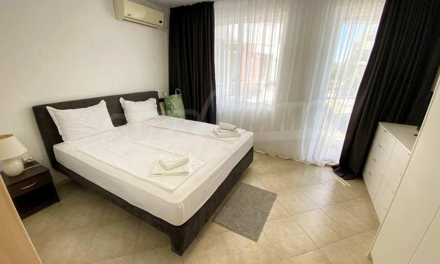 3-Raum-Apartment in der Nähe vom Strand im Komplex Emberli in Lozenets 16