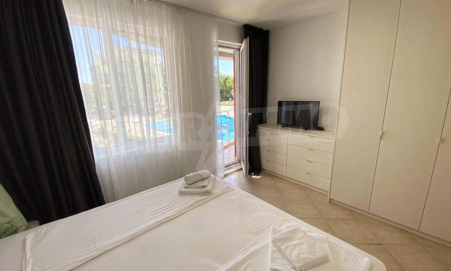 3-Raum-Apartment in der Nähe vom Strand im Komplex Emberli in Lozenets 19