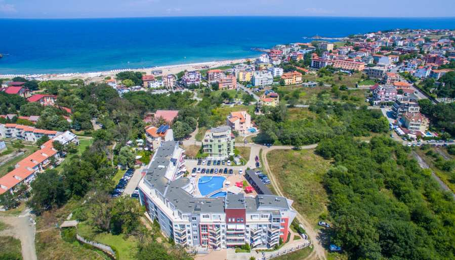 3-Raum-Apartment in der Nähe vom Strand im Komplex Emberli in Lozenets 2