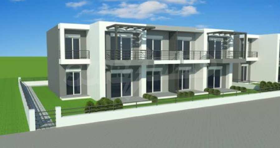Neue 2-Raum- und 3-Raum-Apartments im geschlossenen Komplex in Paralia Ofriniou, Kavala  1
