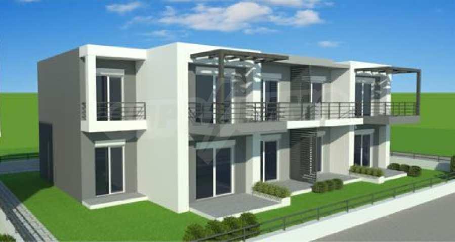 Neue 2-Raum- und 3-Raum-Apartments im geschlossenen Komplex in Paralia Ofriniou, Kavala  3