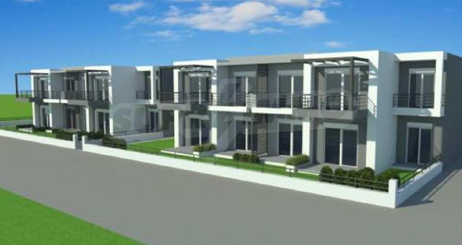 Neue 2-Raum- und 3-Raum-Apartments im geschlossenen Komplex in Paralia Ofriniou, Kavala  5