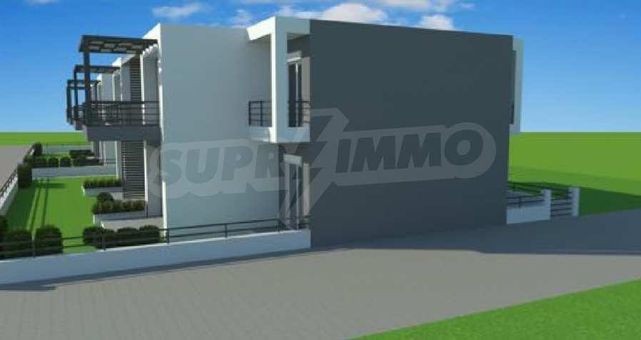 Neue 2-Raum- und 3-Raum-Apartments im geschlossenen Komplex in Paralia Ofriniou, Kavala  6