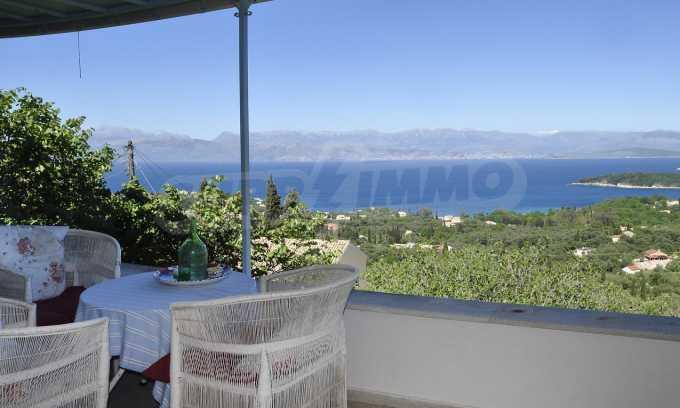 Renoviertes Haus mit Meerblick auf nordöstlichem Korfu 2