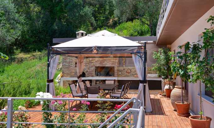 Moderne Villa in Benitses auf Korfu, 80 m vom Meer entfernt 2