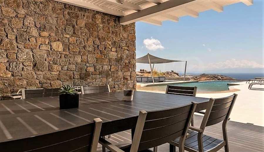 Eindrucksvolle Villa in einer weltweit berühmten Lage - Agrari Beach auf Mykonos 13