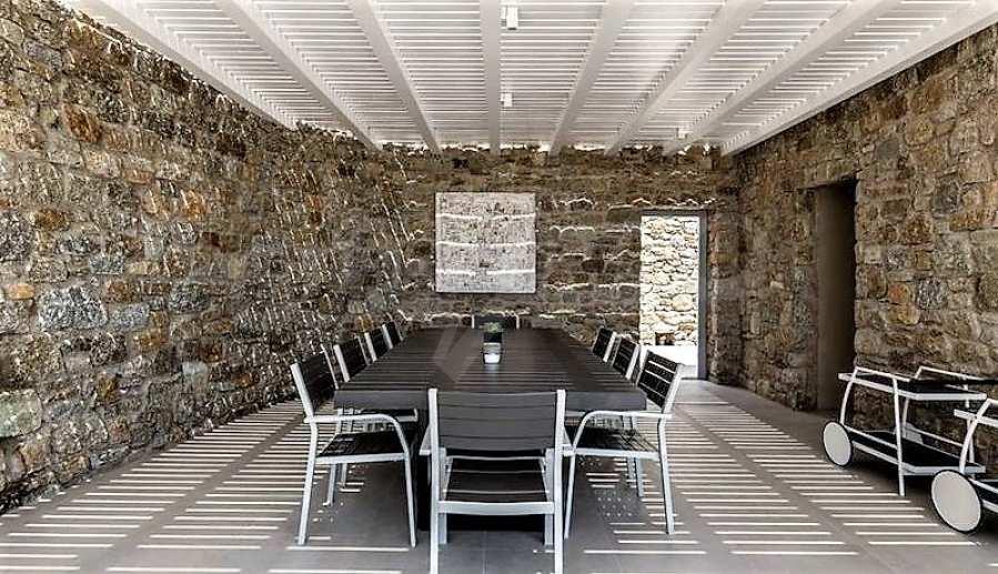 Eindrucksvolle Villa in einer weltweit berühmten Lage - Agrari Beach auf Mykonos 14