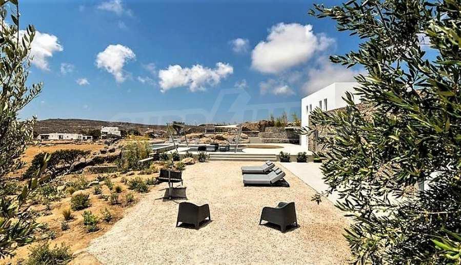 Eindrucksvolle Villa in einer weltweit berühmten Lage - Agrari Beach auf Mykonos 15