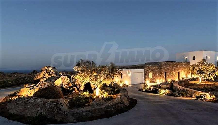 Eindrucksvolle Villa in einer weltweit berühmten Lage - Agrari Beach auf Mykonos 2