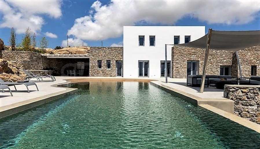Eindrucksvolle Villa in einer weltweit berühmten Lage - Agrari Beach auf Mykonos 3