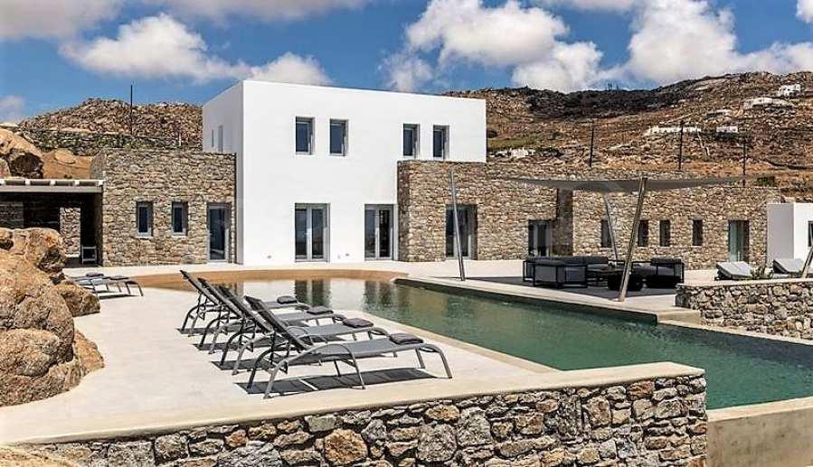 Eindrucksvolle Villa in einer weltweit berühmten Lage - Agrari Beach auf Mykonos 5