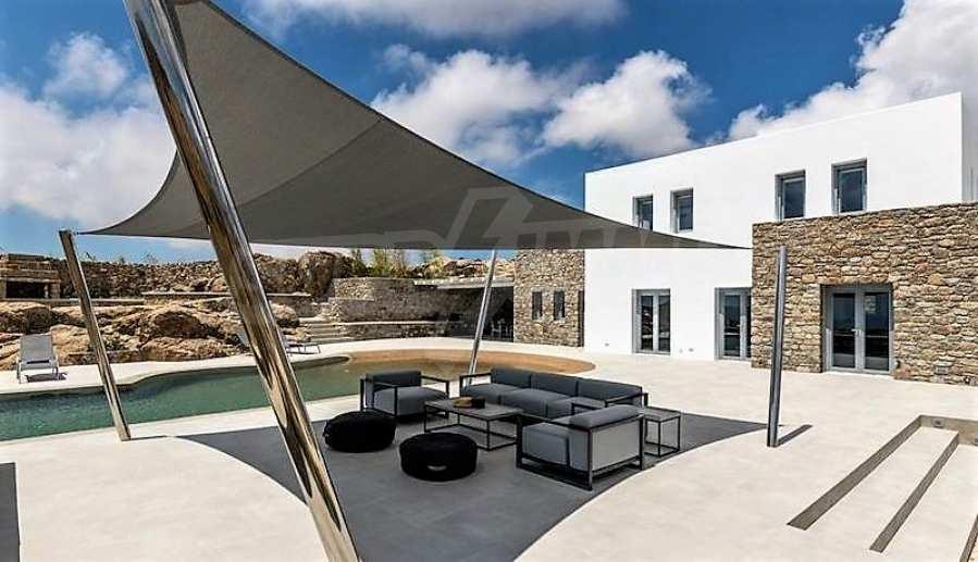 Eindrucksvolle Villa in einer weltweit berühmten Lage - Agrari Beach auf Mykonos 8