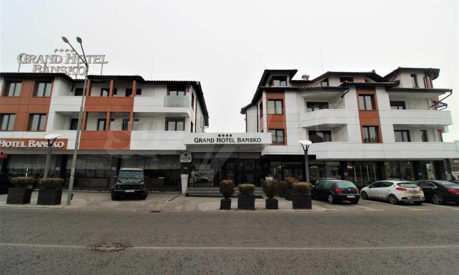 Modern ausgestattetes 3-Raum-Apartment im luxuriösen 5-Sterne-Komplex Grand Hotel Bansko