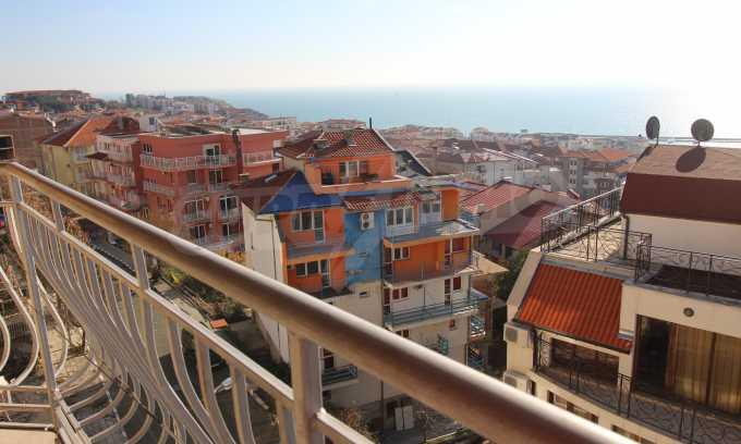 2-Raum-Dachwohnung mit Panoramablick über Meer in Sweti Wlas 22