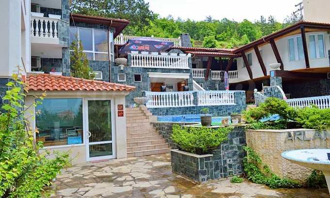 Familienhotel mit Aussichten auf Meer und Gebirge in Sveti Vlas 4
