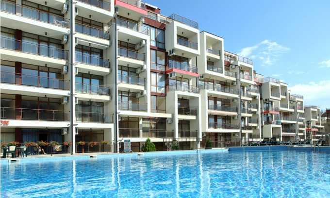 Schlüsselfertige Apartments im modernen Komplex in zweiter Meereslinie in Sweti Wlas 3