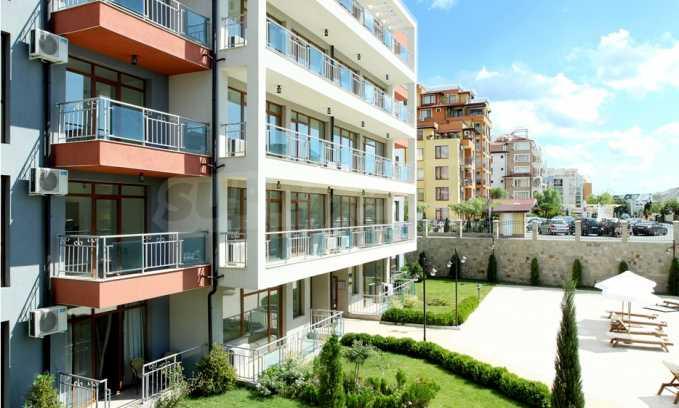 Neubau-Apartments im attraktiven Komplex in erster Meereslinie in Sweti Wlas 9