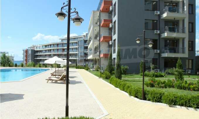 Neubau-Apartments im attraktiven Komplex in erster Meereslinie in Sweti Wlas 10