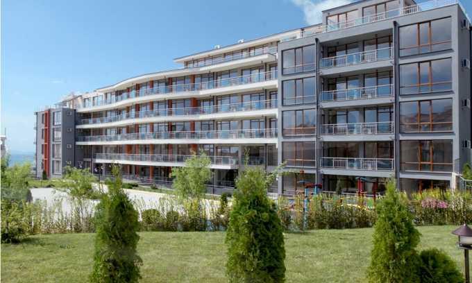 Neubau-Apartments im attraktiven Komplex in erster Meereslinie in Sweti Wlas 11